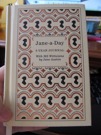 Jane Austen 5 Year Journal